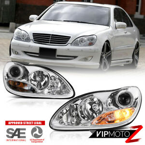 2000 2006 Mercedes Benz W220 S430 S500 Projector Headlights Left Right Assembly