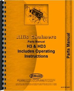 Allis Chalmers H3 Hd3 Crawler Parts Manual ac p h3 hd3