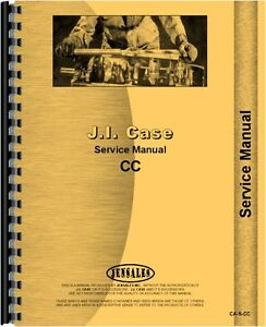 Case Cc Tractor Service Manual