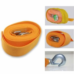 Heavy Duty Tow Strap 3 X 20 Recovery Rescue 20 000 Lb Break Strength Towing