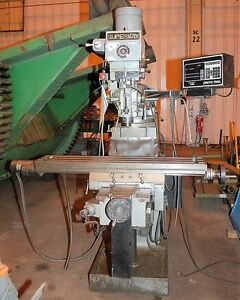 Supermax Ycm 12 Vertical Milling Machine 25173