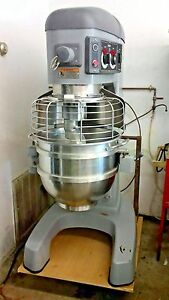 Hobart Legacy 60qt Hl600 Dough Planetary Mixer W Bowl And Hook 1 Phase Or 3 Ph