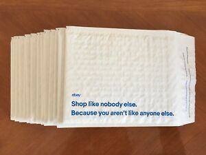 Lot 35 New Ebay Brand Padded Bubbles Shipping Bags Envelopes Mailers 6 5 x8 75