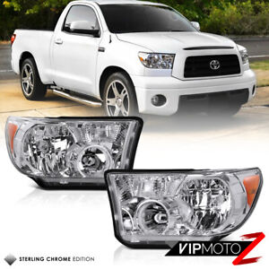Lh rh Crystal Clear Headlight Signal Lamp For Toyota 07 13 Tundra 08 17 Sequoia
