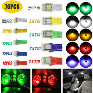 White 30 Smd Bolt On Led Lamps For Car License Plate Lights Backup Reverse Light