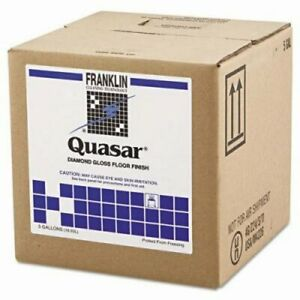 Quasar Diamond Gloss Floor Wax 5 Gallon Cube 1 Each frk F136025