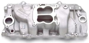 Edelbrock 2161 Performer Bbc Aluminum Intake Big Block Chevy 396 454 468 Oval