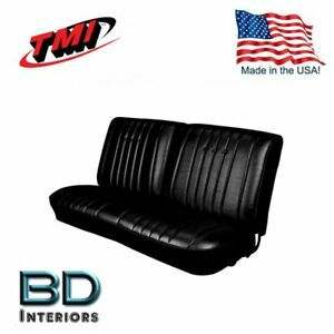 1968 Chevy Chevelle Front Bench Seat Upholstery Made In Usa By Tmi In Stock