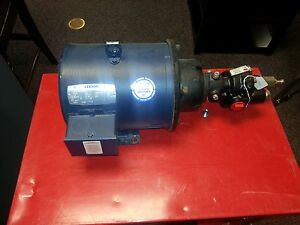 Dayton Rotary Hydraulic Gear Pump With Elec Motor 175 Psi 3 Hp 3 Phase