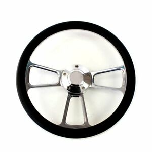 1979 1981 Dodge Truck Van Billet And Black Steering Wheel Full Install Kit