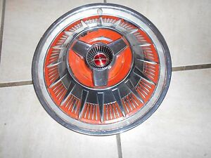 1964 Ford Thunderbird Spinner Hubcaps Used Oem 1 Piece Only 15