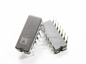 10pcs Ad595aq Monolithic Thermocouple Amplifier Dip 14