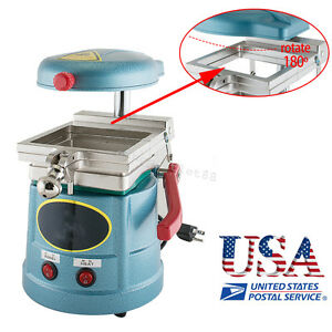 Dental Lab Vacuum Forming Molding Machine Former Thermoforming Press Device Usa