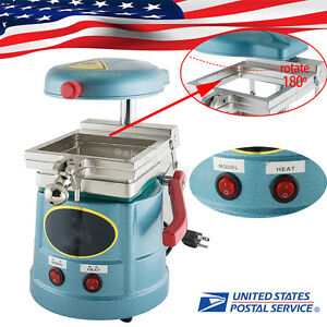 Us Stock Dental Vacuum Forming Molding Machine Former Heat Thermoforming Lab Use