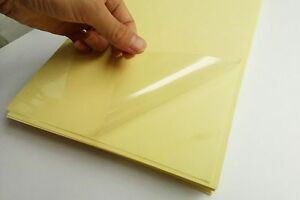20 Sheets Clear Transparent Self Adhesive Paper Sticker Label Laser Printer