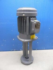 Graymills Cast Iron Immersion Machine Tool Recirculating Pump 230 460v 3ph Imv75