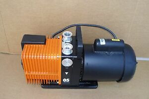 Alcatel Adixen Pascal Model 2005 Rotary Vane Dual Stage Mechanical Vacuum Pump