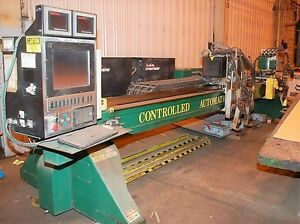 Controlled Automation Multimax 14 X 33 Cnc Plasma Cutting System 20654