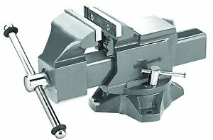 New Pro grade 59114 Heavy Duty Swivel Bench Vice 5 inch Hardened Steel China