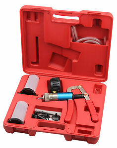 Professional Precise Automotive Vacuum Test Brake Bleeder Kit