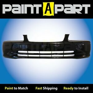 Fits 2000 2001toyota Camry Front Bumper Painted 202 Black