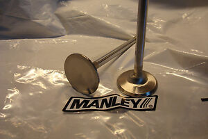 Manley 11587 8 Bb Chevy 1 88 Inconel Extreme Duty Marine Valves