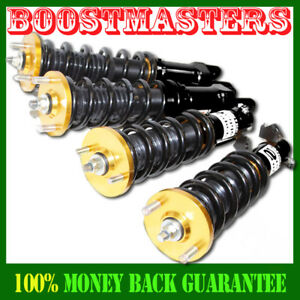 For 92 00 Civic 93 97 Del Sol 94 01 Integra Coilover Suspension Kit Gold