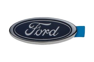 1998 2004 Ford Mustang Rear Trunk Oval Emblem Name Plate Oem New F8zz 6342528 Aa