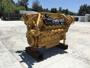 Caterpillar Cat C32 Zero Hours Diesel Engine Surplus Oil Rig well Servicing