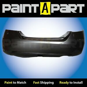 2006 2007 2008 Honda Civic Coupe Rear Bumper Painted Nh737m Polished Metallical