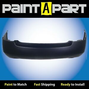 Fits 2003 Nissan Altima 3 5l 6cyl 2 Exhst Rear Bumper premium Painted
