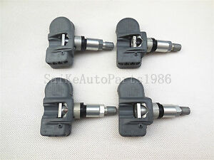 4x New Mercedes Benz Smart A0009054100 Oem Original Tire Pressure Sensor Tpms
