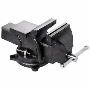 Bessey Bv hd60 Heavy Duty Bench Vise 6 hammer Tone Gray Swivel Base Bench Vise