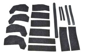 Freedom Hard Top Seal Replacement Kit Fix Air Leaks Fits Jeep Wrangler Jk