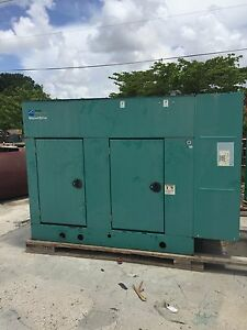 Cummins 60 Kw Natural Gas Generator Weather And Sound Attenuated Enclosure