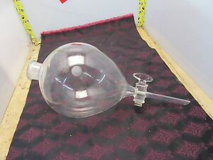 Pyrex 4000ml Lab Glass Funnel d 5 5