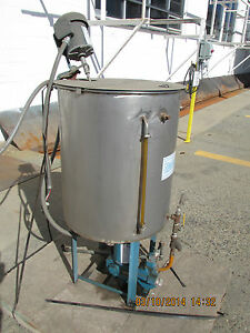 Neptune Stainless Mixing Tank Pump
