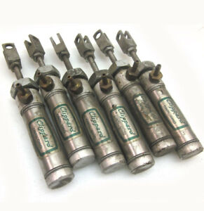 Lot Of 6 Clippard Srr 12 Pneumatic Cylinder 3 4 Stroke Controller Cylinders