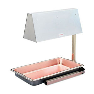 Vollrath 71500 Cayenne Heat Lamp accepts Full Size Pans