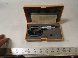 Machinist Tools Lathe Mill Machinist Mitutoyo Flange Disk Micrometer Gage Gauge
