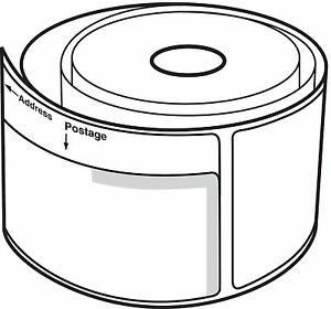 12 Rolls Dymo Labelwriter Compt 30384 2 part Internet Postage Labels 150 P r