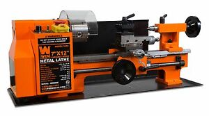 Wen 3455 Variable Speed 7 By 12 Two direction Benchtop Metal Lathe