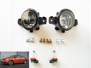 For 2008 2013 Nissan Altima Coupe 2dr S Se Sr Clear Lens Fog Light Kit With Bulb