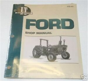 Ford 2600 3600 4600 2610 3610 4610 I t Shop Manual Fo41