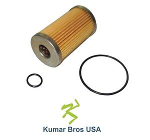 New Ford New Holland Fuel Filter With O rings 1900 1910 1920 2110 2120