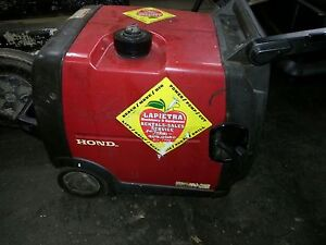 Used Honda Generator Eu3000i Eu3000 Handi Watt Portable Quiet Inverter Gas Powe