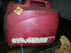 Used Honda Generator Eu1000i Eu1000 Watt Portable Quiet Inverter Gas Power