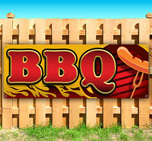 Bbq Advertising Vinyl Banner Flag Sign Many Sizes Available Usa