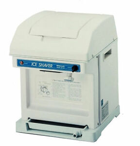 Hatsuyuki Hc 8e Cube Shaved Ice Machine Brand New free Shipping
