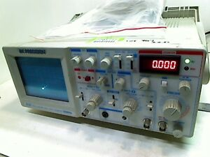 Bk Precision Oscilloscope With Auto Counter 30mhz 2121